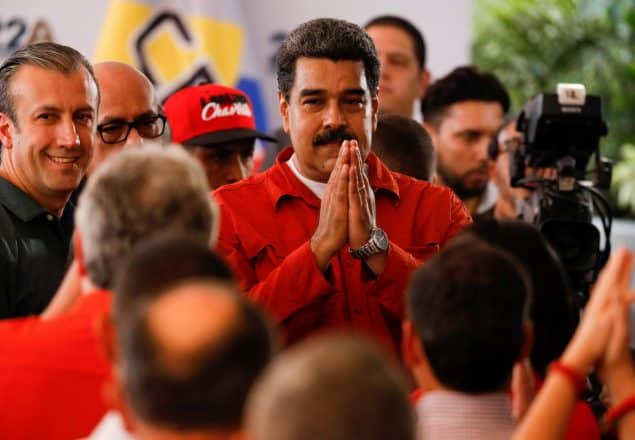 Pressure On President Maduro As US Sanctions State Oil Firm