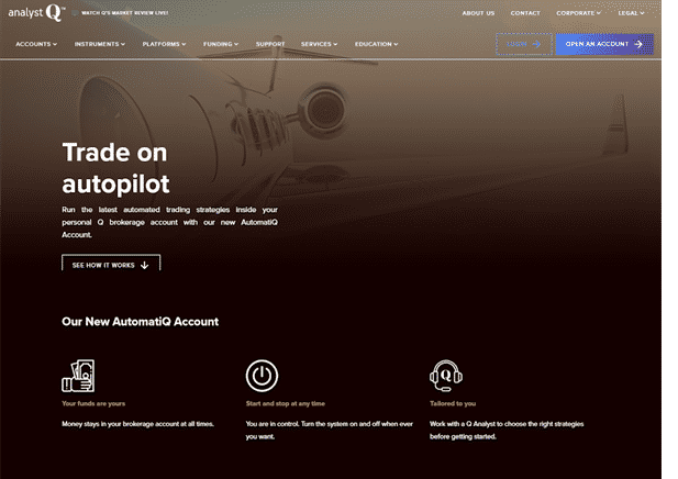 AnalystQ Reviews - AutomatiQ Account